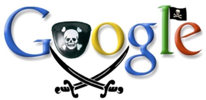 Google elimina enlaces a contenido pirata
