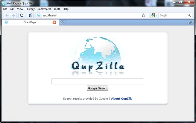 qupzilla navegador web basado en Qt