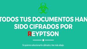 Reyptson, el nuevo ransomware que está atacando a usuarios españoles