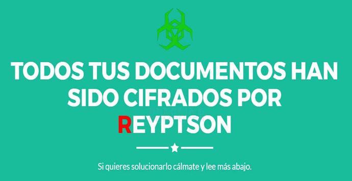 Reyptson, el nuevo ransomware