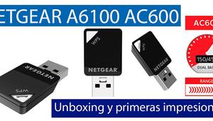 Conoce el adaptador Wi-Fi de pequeño tamaño NETGEAR A6100 en nuestro video