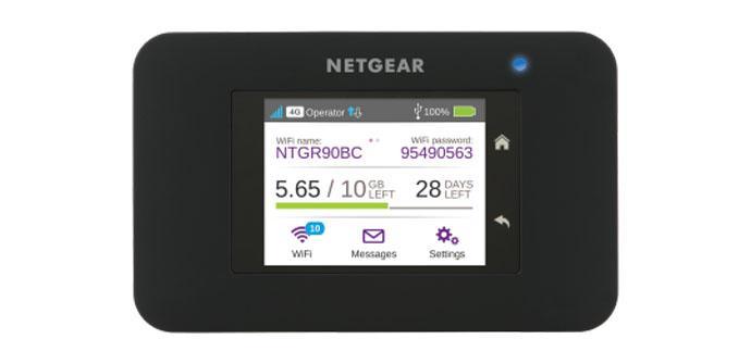 Ver noticia 'Analizamos el MiFi 4G NETGEAR AirCard AC790 con pantalla táctil y Wi-Fi AC1200'