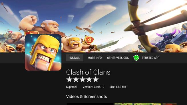 RaspAnd Clash of Clans