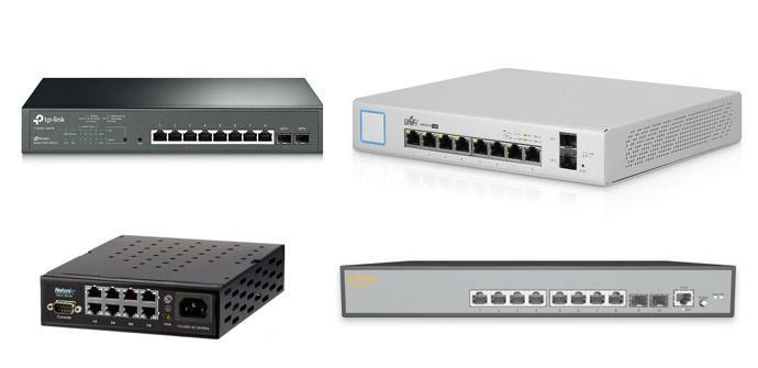 Ver noticia 'Comparativa de switches con 8 puertos Gigabit Ethernet con PoE y gestionables'