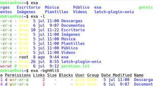 """Conoce exa, una alternativa moderna al popular """"ls"""" en Linux"""