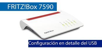 Conoce todas las posibilidades de los USB 3.0 del router FRITZ!Box 7590