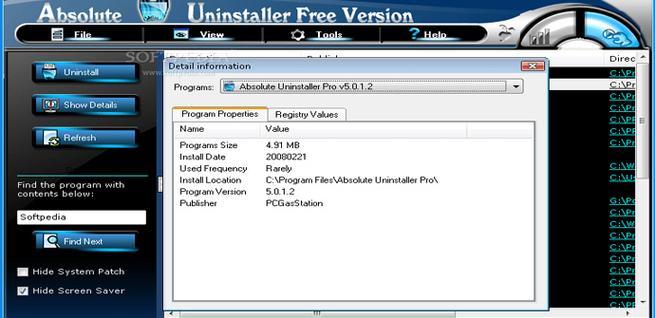 Programa para desinstalar software de forma avanzada