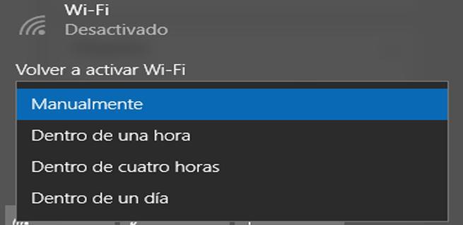 Opciones para conectar el WiFi de forma automática