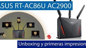 Conoce el router neutro de alto rendimiento ASUS RT-AC86U en nuestro video