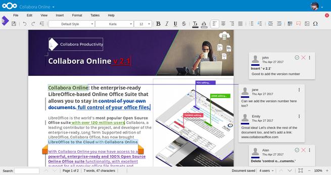 Collabora Office NextCloud