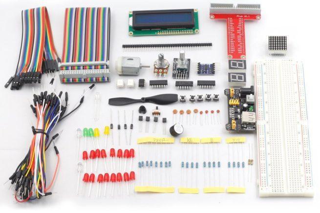 Componentes electrónica Raspberry Pi