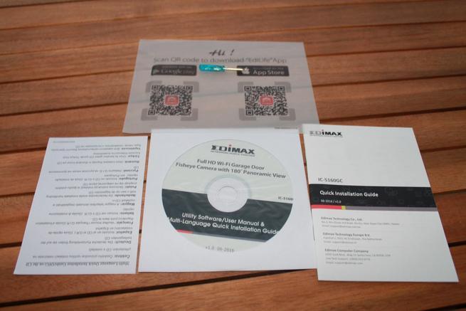 Documentación de la cámara IP Edimax IC-5160GC
