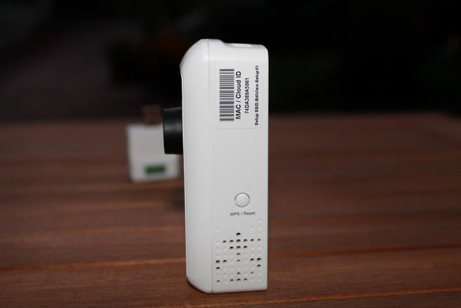Botón WPS de la cámara IP