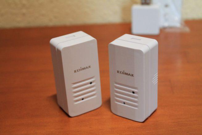Sensores de apertura de puertas y ventanas del pack Edimax IC-5170GC