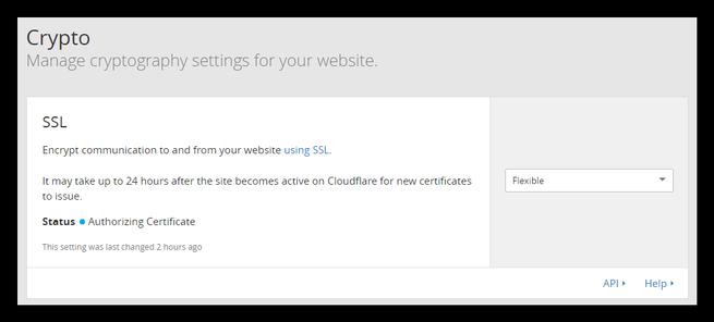 Habilitar HTTPS CloudFlare