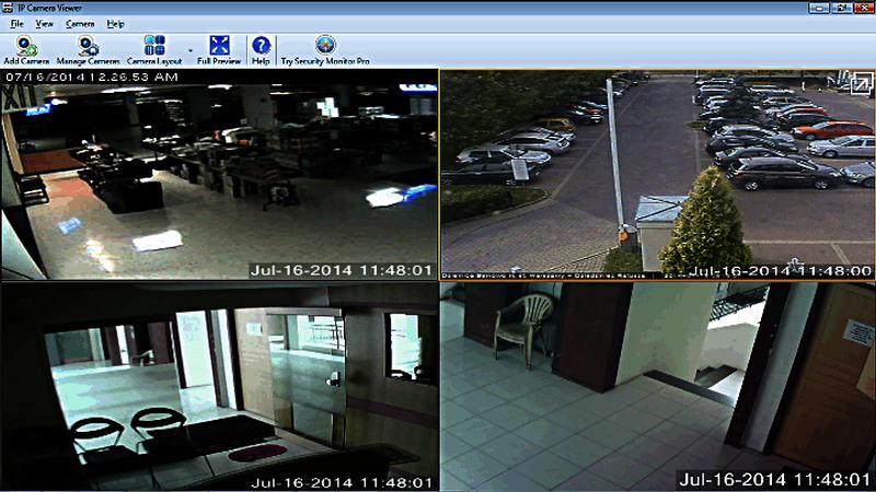 IP Camera Viewer, una herramienta gratuita para controlar