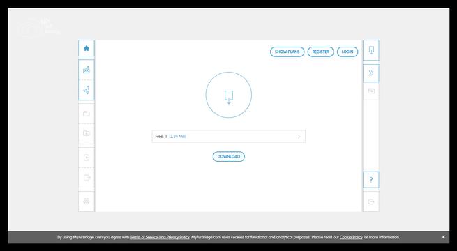 MyAirBridge - Descargar archivos compartidos