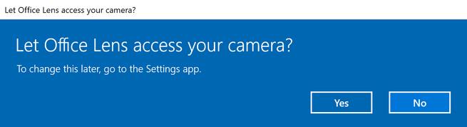 Permisos apps Windows 10 Fall Creators Update
