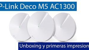 Conoce el sistema Wi-Fi Mesh TP-Link Deco M5 en nuestro video