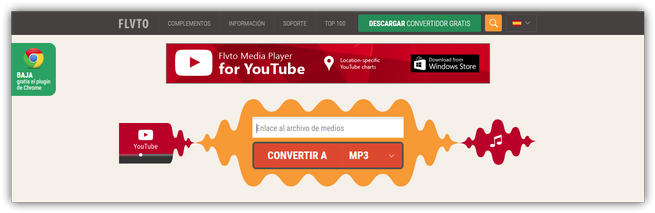 Convertir YouTube MP3