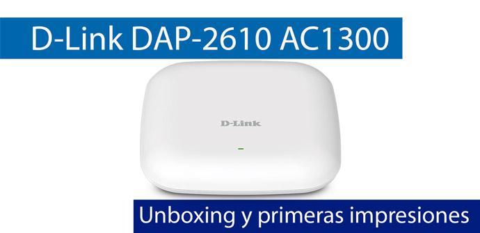 Ver noticia 'Conoce el punto de acceso profesional D-Link DAP-2610 AC1300 con PoE en este video'
