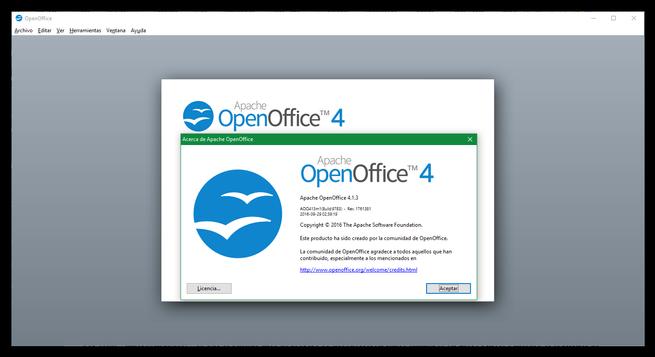 OpenOffice 4.1.3