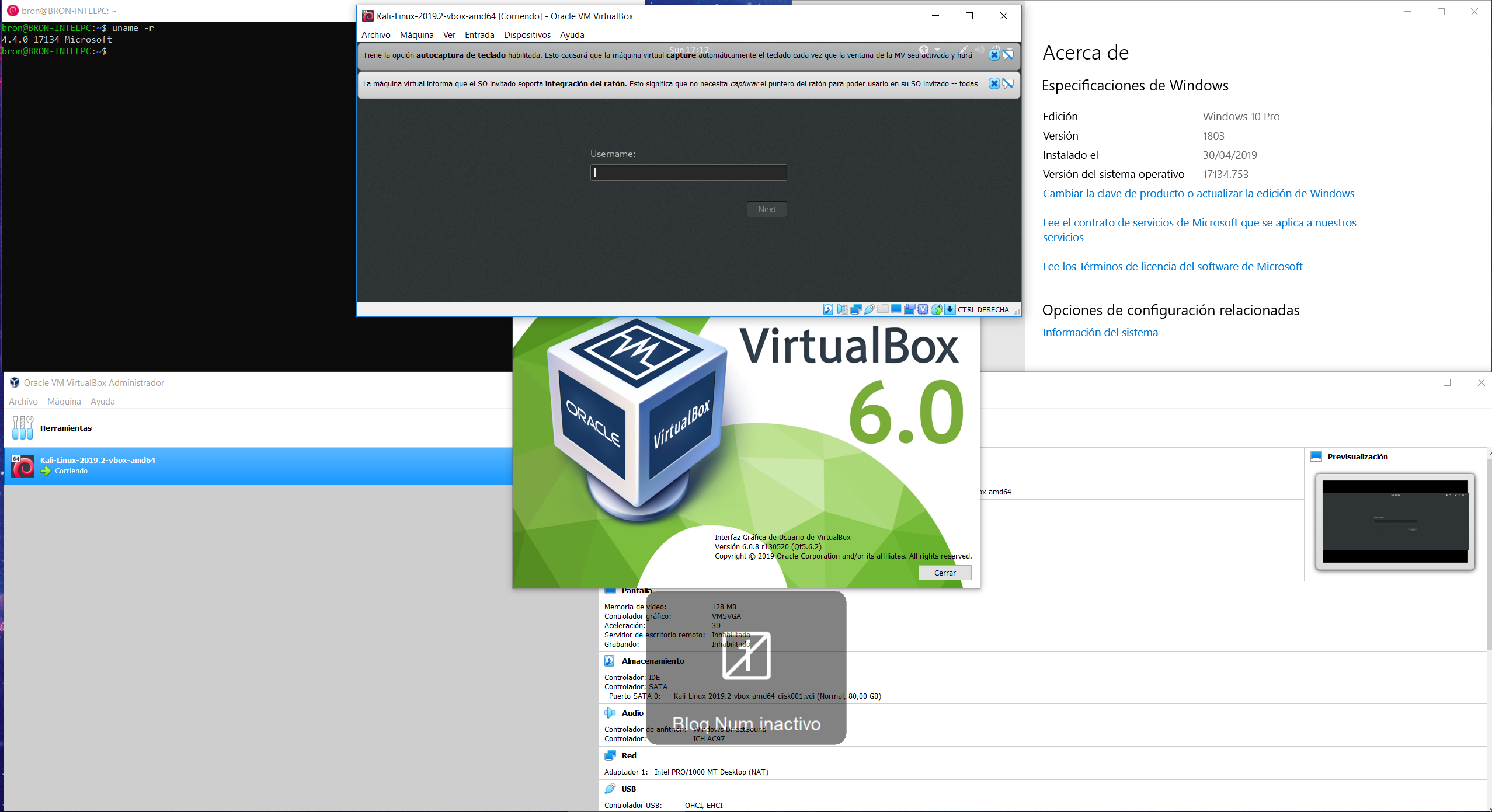 Windows 10 te obliga a elegir entre VirtualBox y Hyper-V