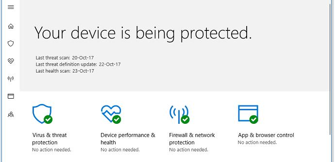 Windows 10 Fall Creators Update conoce herramienta anti-ransomware