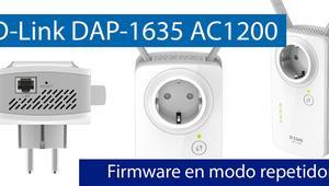 Conoce el firmware del D-Link DAP-1635 en modo repetidor Wi-Fi