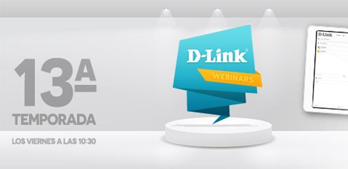 Ver noticia 'D-Link lanza la temporada 13 de webinars sobre redes, Wi-Fi, videovigilancia y mucho más'