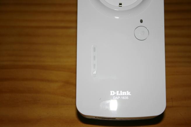 LEDs de estado de cobertura del D-Link DAP-1635