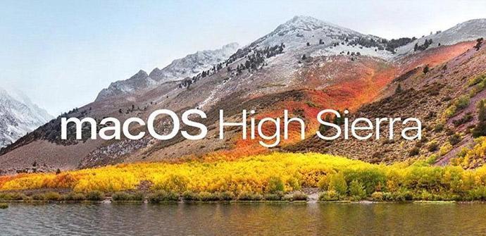 Ver noticia 'Apple lanza un parche de emergencia para MacOS High Sierra'