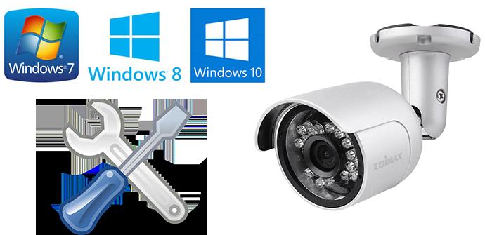 Cómo instalar cualquier cámara IP de Edimax con Windows