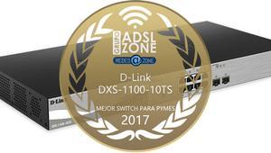 Premios ADSLZone 2017: El mejor switch para PyME es el D-Link DXS-1100-10TS