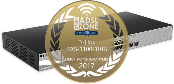 Ver noticia 'Premios ADSLZone 2017: El mejor switch para PyME es el D-Link DXS-1100-10TS'