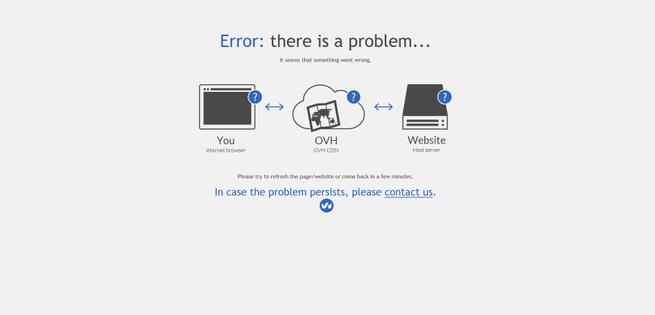 Error CDN OVH