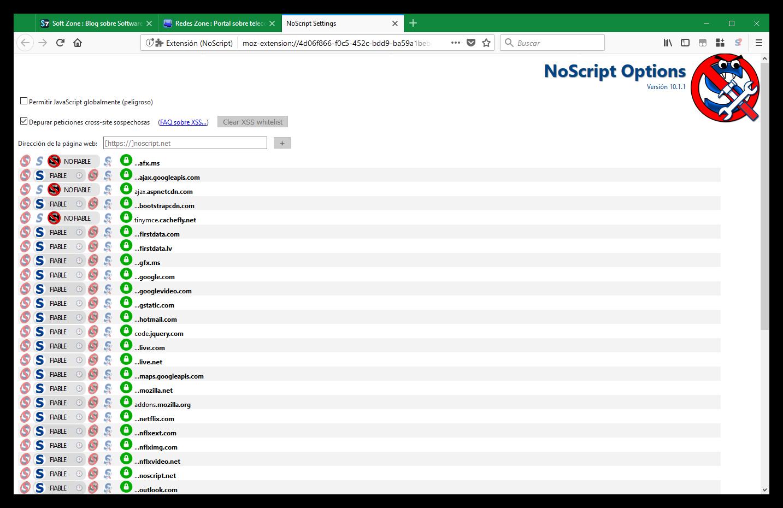 """Resultado de imagen de NoScript 11"""""""