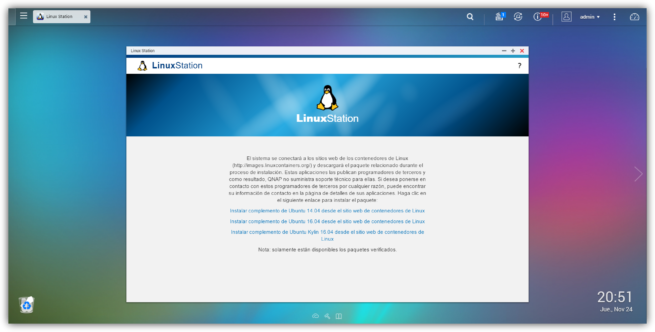 QTS Linux Station