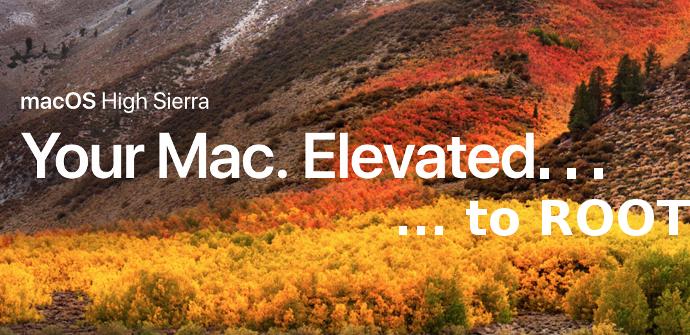 Vulnerabilidad macOS Root