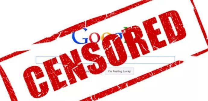 Google bloquea páginas en Internet