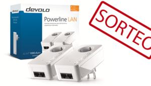 Sorteamos un pack de PLCs devolo dLAN 1000 duo+