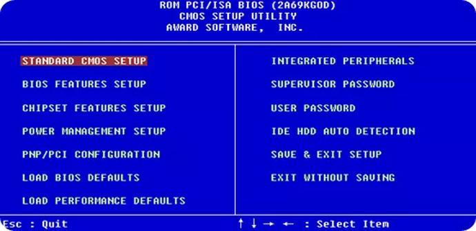 Intel pone fin al sistema BIOS