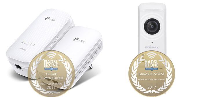 Ver noticia 'Premios ADSLZone 2017: Mejor PLC Wi-Fi el TP-Link TL-WPA9610 KIT, solución Smart Home Edimax IC-5170SC'