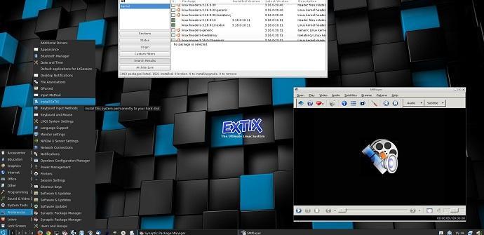 ExTiX distribución basada en Ubuntu