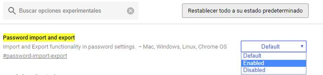 Importar Exportar Contraseñas Google Chrome