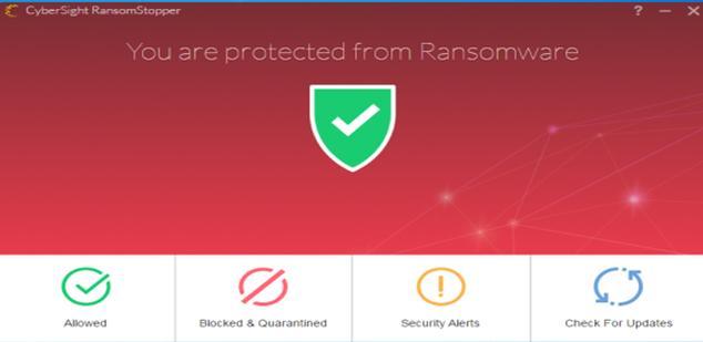 CyberSight Ransomstopper, antiransomware para Windows