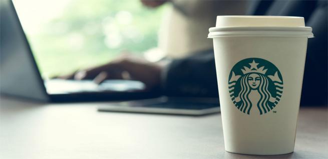Problema con el Internet de Starbucks