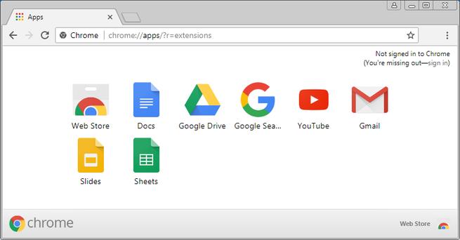 Administrador de Extensiones Bloqueado en Google Chrome