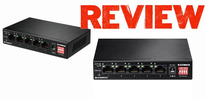 Edimax ES-5104PH V2 análisis detallado de este switch
