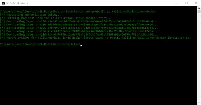 Instalando Kali Linux en WSL